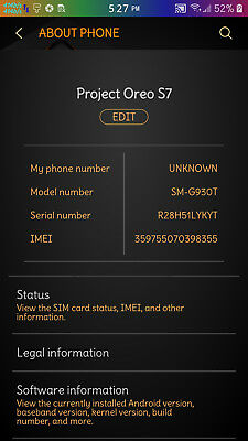 CUSTOM BUILD ROOTED, Samsung Galaxy Note 4 32GB SM-N910T GSM