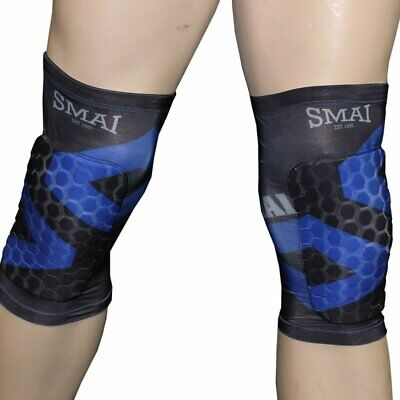 NEW SMAI Knee Guard Support Protector Brace - MMA UFC Wrestling