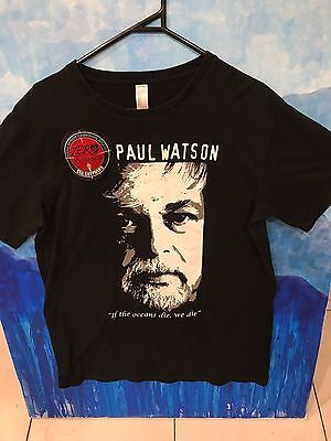 Sea Shepherd Paul Watson UniSex XL T-Shirt