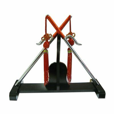 NEW SMAI Sai - Double Stand Suitable for Martial Arts Training Weapons or Col...