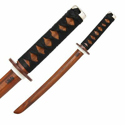 NEW SMAI Martial Arts Weapon Shoto - Red Oak (Bound Handle) - Fighting Traini...