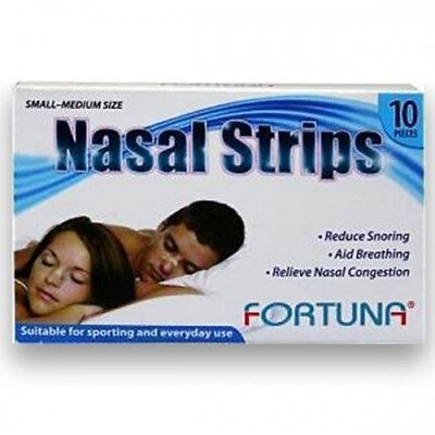 Fortuna Nasal Strips (Pack of 10)