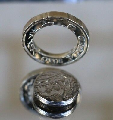 £1 One Pound Coin 2017 DESIGN 12 Sided Dated 2016  Separated centre
