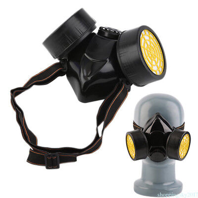 1pc Dual Protection Filter mask Emergency Survival Safety Respiratory Gas Mask E