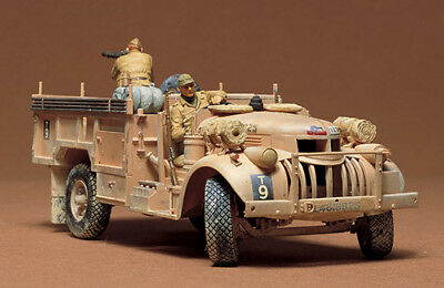 Tamiya 35092 1/35 Model Kit British LRDG Command Car Chevrolet 4x2 30cwt Truck