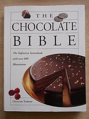 The Chocolate Bible~Christian Teubner~Sourcebook~Recipes~Cookbook~240pp P/B~1997