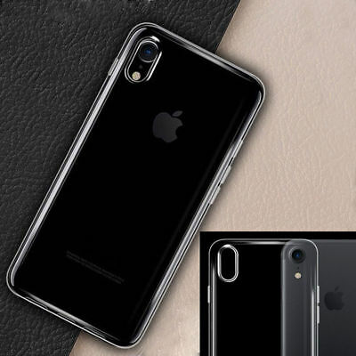 Case For iPhone X XS Max XR 8 Plus iPhone 7 Plus 6 Thin Soft TPU Silicone Cover