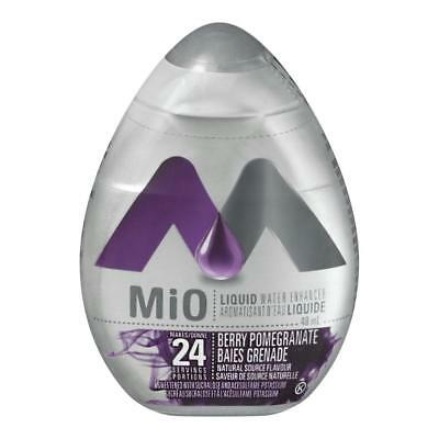 5 Bottles MIO Liquid Water Enhancer, Berry Pomegranate, 48mlx5=240ml Concentrate