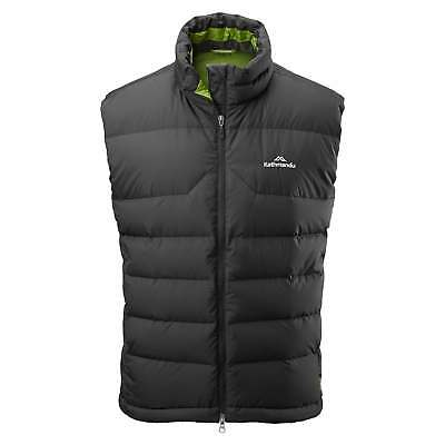 Kathmandu Epiq Mens Sleeveless Warm Outdoor Duck Down Puffer Vest Black