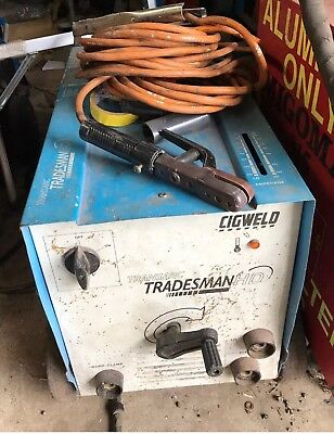 Cigweld Transarc Tradesman Hd Heavy Duty Arc Welder 330A 3-Phase