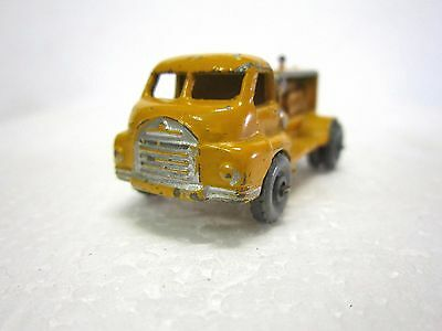 LESNEY MATCHBOX #28 Diecast BEDFORD COMPRESSOR TRUCK 1956 No Box Good condition