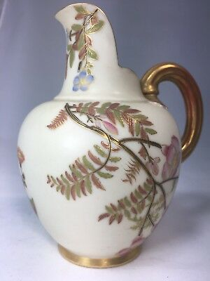 Antique Royal Worcester Luxuries  HandPainted Porcelain Small Vase Stamped