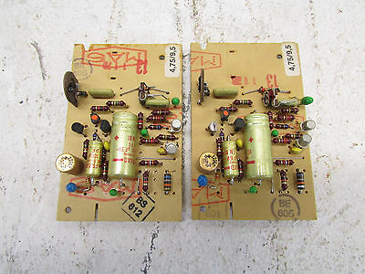 Revox A77, lot with 2 cards