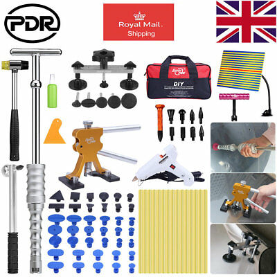 UK PDR Paintless Dent Removal Slide Hammer Dent Lifter Dent Damange Repair Kit