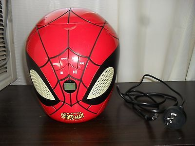 The Spectacular Spider-Man Stereo C D Player by Lexibook