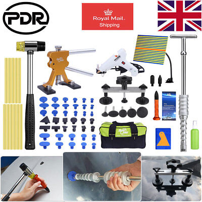 PDR Paintless Dent Removal Line Board Slide Hammer Glue Gun Dent Repair Tool Kit
