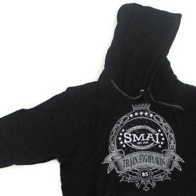 NEW SMAI Black Hoodie - King (Long) - Long Sleeve Hooded Sweatshirt Pullover ...
