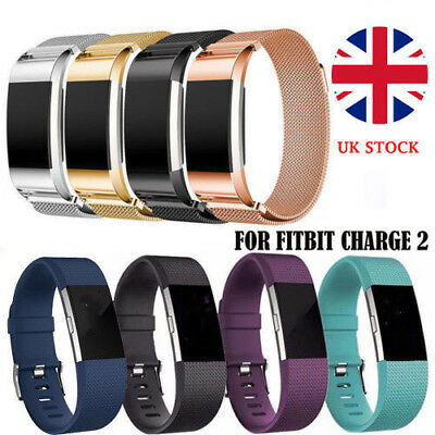 For Fitbit Charge 2 Various Band Loop Replacement Wristband Watch Strap Bracelet