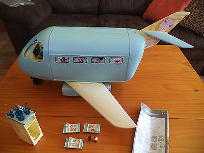 Vintage  Barbie Jet Airplane - 1999- With Some Accessories -Jet Sounds-