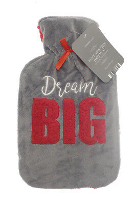 Country Club Plush Hot Water Bottle Dream Big Soft Christmas Stocking Filler