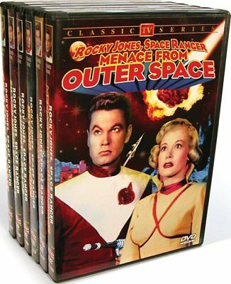 Rocky Jones, Space Ranger Collection (Beyond The Moon / Crash of the NEW DVD