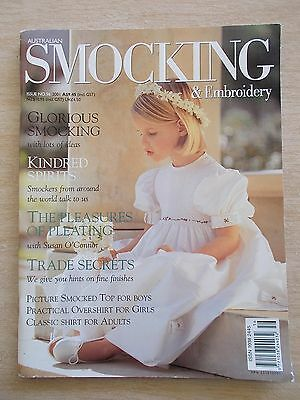 Australian Smocking & Embroidery #56~Dresses~Shirts~Picture Smocking~Top & Pants