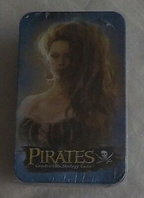 """Pirates """"Collector Tin with 4 Packs """"  Sealed -"""