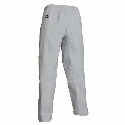 NEW SMAI Martial Arts Pants - White - Adult/Kids Size 000 to 7 - Martial Arts...