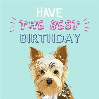 Waggy Tails Charity Birthday Card Happy Birthday Jack Russell