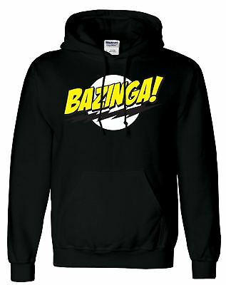 Pack x 5 Black Bazinga Hoody M Size Hoodie Jumper Wholesale Discounted Price
