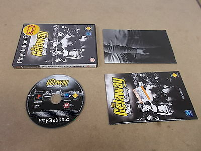 PS2 Playstation 2 Pal Game THE GETAWAY BLACK MONDAY with Box Instructions Map