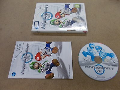 Nintendo Wii Pal Game MARIO KART Wii with Box Instructions