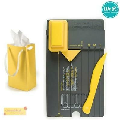 WeR Memory Keepers GIFT BAG  Punch board,71333-3,Stanz- und Falzbrett