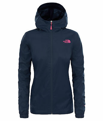 The North Face Womens Quest Waterproof Jacket - Navy - Lightweight