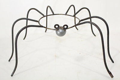 Wrought Iron Large Spider Pot Holder or Gazing Ball Stand