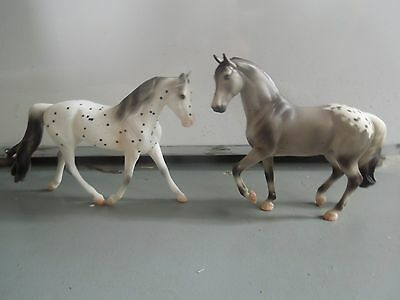Breyer Classic Appaloosa Models Tivoli and TSC New Beginnings Set Mare