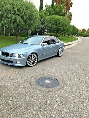 2002 BMW M5 Sport two tone aluminum Bmw m5 e39 Dinan upgrades BlueWater Metallic RARE