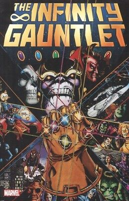 Infinity Gauntlet Tpb New Ptg Reps #1-6 Mint/unread