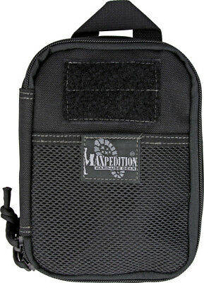 "Maxpedition Fatty Pocket Organizer 0261B Black. Compact 5"" x 7"" x 2"" size. Drops"
