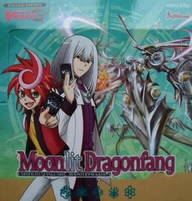 Cardfight Vanguard Moonlit Dragonfang Vge-G-Bt05 - 4 Card Playsets Commons