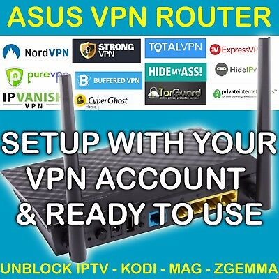 VPN ROUTER FOR Private Internet Access Free Pia Setup Unblock Kodi Sports  Zgemma