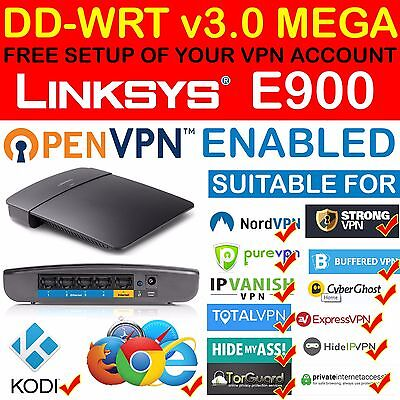 *new* Free Vpn Account Setup Openvpn Pptp Dd-Wrt Mega Linksys E900 Router Kodi
