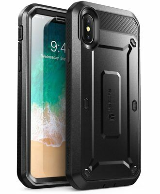 iPhone X / XS Case SUPCASE Full-Body Beetle Pro Holster Case Screen Protector