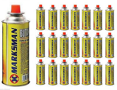 Butane Gas Bottles/ Canisters Ideal For Portable Stoves Grills Heaters New