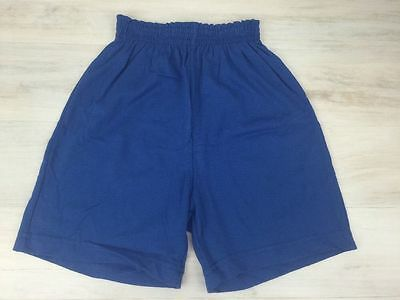 Augusta Sportswear Youth Small Athletic Gym Workout Shorts Blue