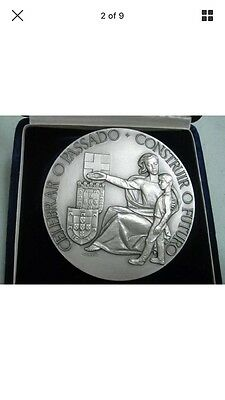 XL anniversary Portuguese National Revolution 1926/1966 305g silver medal coin
