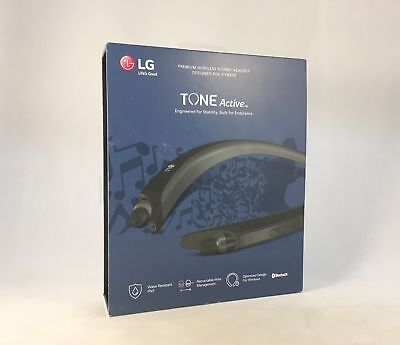 Brand New Genuine LG - TONE Active HBS-A80 Bluetooth - IPX5 Water Resistant