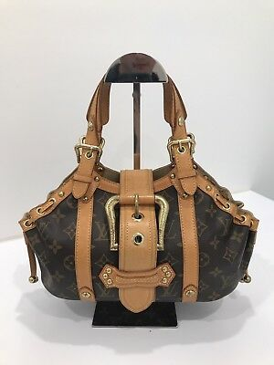 Authentic LOUIS VUITTON Monogram Theda PM