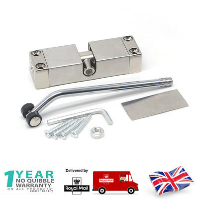 Surface Mounted Door Gate Closer Auto Fully Adjustable Spring Closing Fire Rated