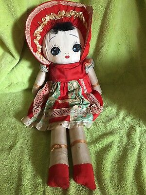 Vintage Doll - chinese Girl